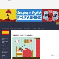 Spanish and English e-learning