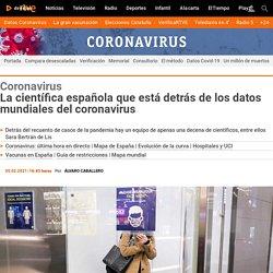 La española que está detrás de los datos mundiales del Covid