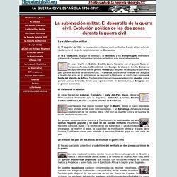 La Guerra Civil Española (1936-1939) - La sublevación militar y el inicio de la guerra