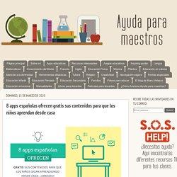 8 apps españolas ofrecen gratis sus contenidos para que los niños aprendan desde casa