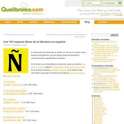 Los 100 mejores libros de la literatura universal en españolBlog de Quelibroleo.com