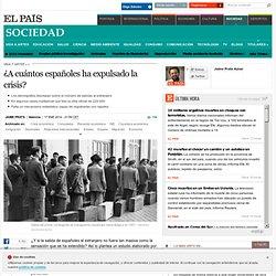 ¿A cuántos españoles ha expulsado la crisis?