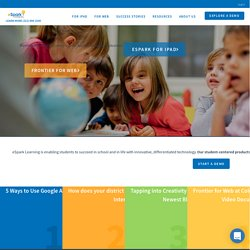 eSpark | Where learning meets fun