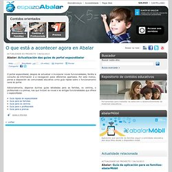 Actualización das guías do portal espazoAbalar