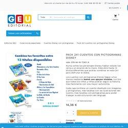 ★ Pack Especial Rey León pictogramas - Cuento con pictogramas ® Editorial GEU