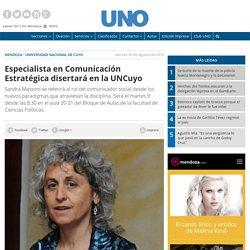 Especialista en Comunicación Estratégica disertará en la UNCuyo