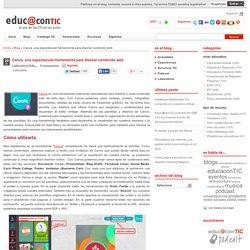 Canva, una espectacular herramienta para diseñar contenido web