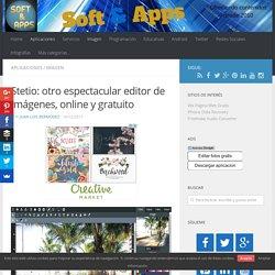 Stetio: otro espectacular editor de imágenes, online y gratuito