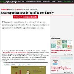 Crea espectaculares infografías con Easelly