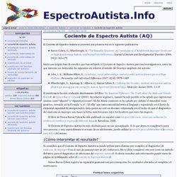 Cociente de Espectro Autista