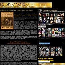 El ladron de cadaveres: Robert Louis Stevenson