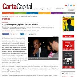 STF, uma esperança para a reforma política
