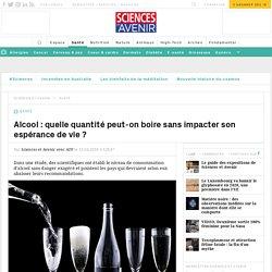Alcool et espérance de vie : une étude quantifie la dose toxique
