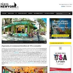 Esperanto, le restaurant brésilien de NY à connaître