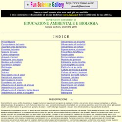 Esperimenti Scientifici di Educazione Ambientale e Biologia