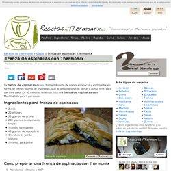 Trenza de espinacas en Thermomix - RecetasDeThermomix.es
