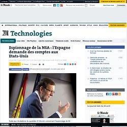 En Espagne, 60 millions de communications espionnées par la NSA