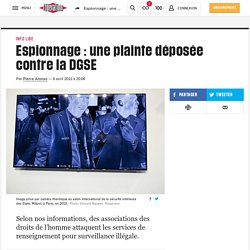 Adrienne CharmetAlix: Une plainte de @fidh_fr et @LDH_Fr contre la DGSE...
