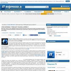 Cyber-espionnage : PRISM agite toujours la sphère IT