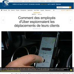 Comment des employés d'Uber espionnaient les déplacements de leurs clients