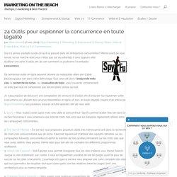 23 Outils pour espionner la concurrence en toute légalités | Blog Marketing