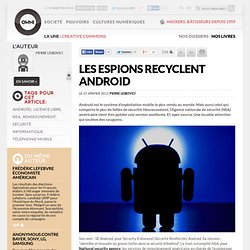 La NSA recycle Android