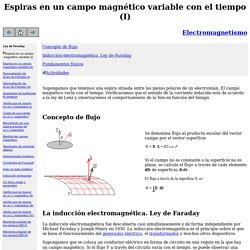 Espiras en uncampo magnético variable con el tiempo (I)