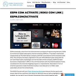 ESPN COM ACTIVATE