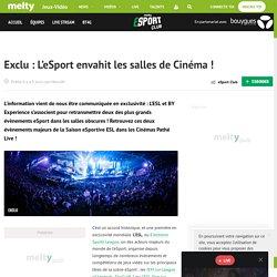 Exclu : L'eSport envahit les salles de Cinéma !