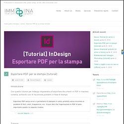 Esportare PDF per la stampa [tutorial]