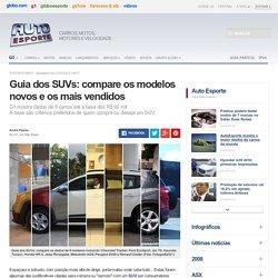 Auto Esporte - Guia dos SUVs: compare os modelos novos e os mais vendidos