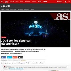 eSports: ¿Qué son los deportes electrónicos? - AS.com