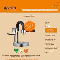 Kamira. L'espresso cremoso sul fornello di casa