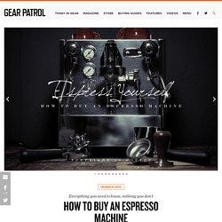 10 Best Espresso Machines & Buying Guide