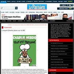 L'esprit Charlie plane sur la BD : L'attrape-bulles