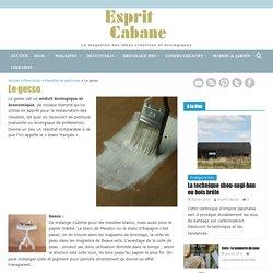 Le gesso, Esprit Cabane, idees creatives et ecologiques