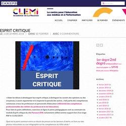 Esprit critique – CLEMI La Réunion