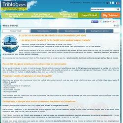 L'esprit Tribloo, le site des centres de plongée sous marine