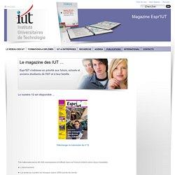 EsprIUT - Le magazine des IUT
