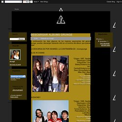Esquina Grunge: DESCARGAR ALBUMS GRUNGE