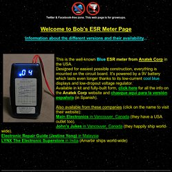 ESR meter page
