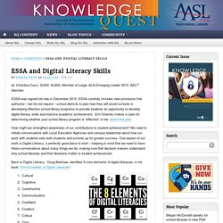 ESSA and Digital Literacy Skills