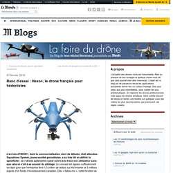 Hexo+, le drone français