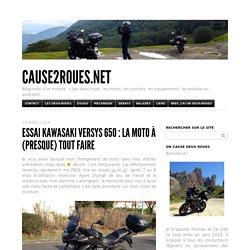Essai Kawasaki Versys 650 : la moto à (presque) tout faire