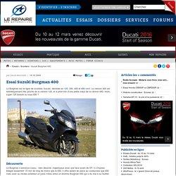 Essai Suzuki Burgman 400