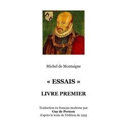 « ESSAIS » LIVRE PREMIER