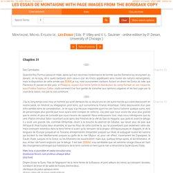 les essais de montaigne with page images from the bordeaux copy