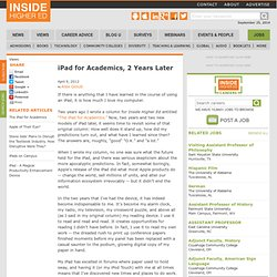 Essay about academics