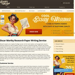 Essay Mama Research Papers