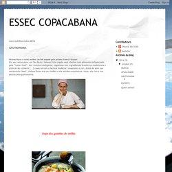ESSEC COPACABANA: GASTRONOMIA